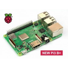 Raspberry Pi 3 Model B+  1.4 GHz 64-bit Quad core ARM CPU with WiFi - Bluetooth